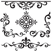 Exquisite Ornamental Designs Pack (Vector)