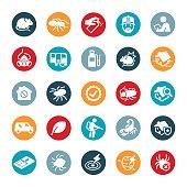 Exterminator and Pest Control Icons