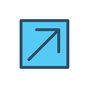 External Link Icon w Arrow and Box where You Know You're going to be leaving website