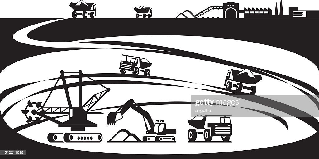 Extraction of ore from open pit