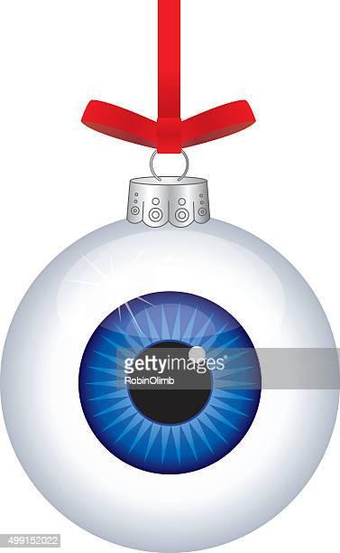 Eye Ball Christmas Ornament