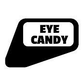 eye candy stamp on white