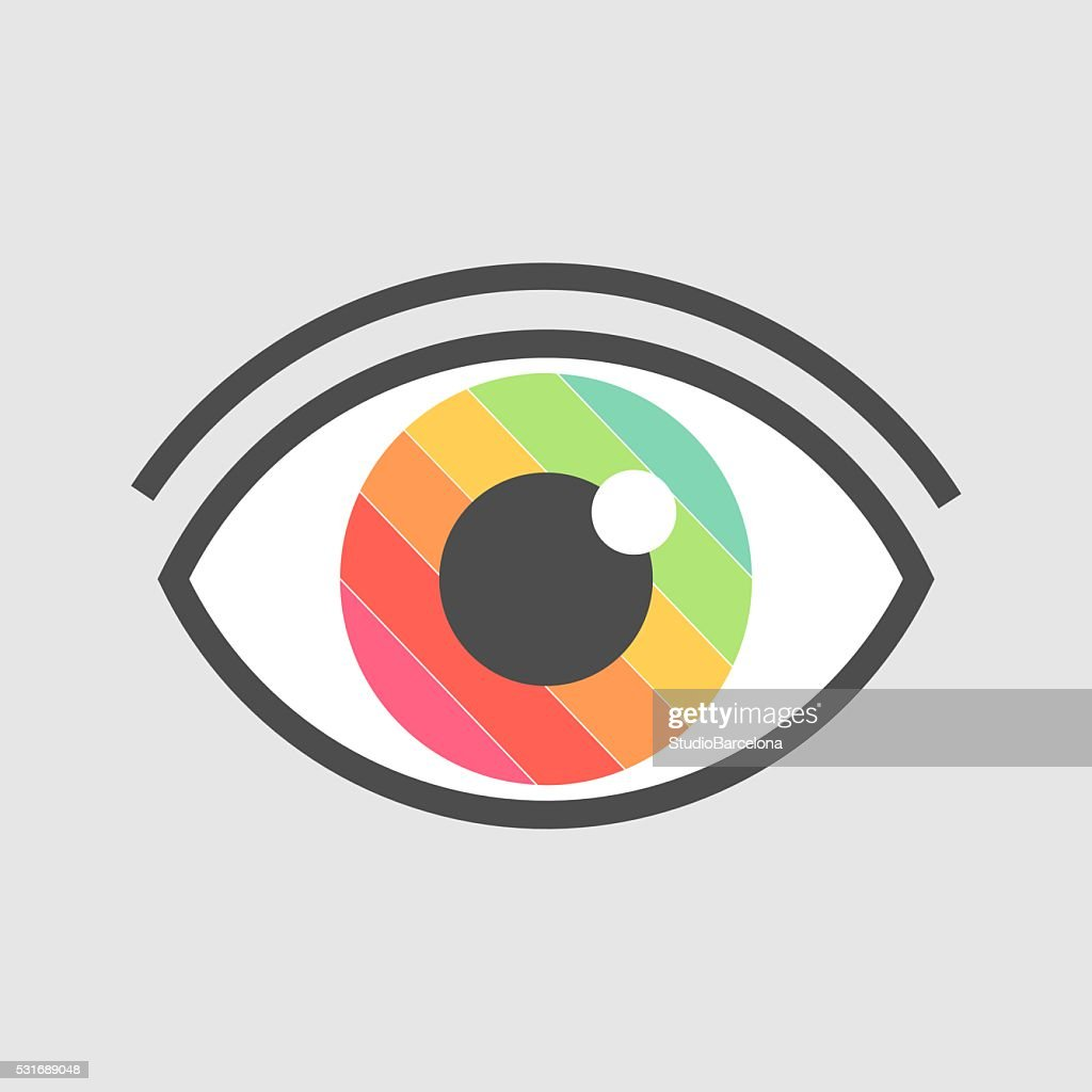 Eye colors vector