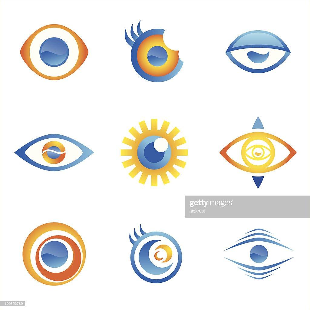 Eye Icons (vector)