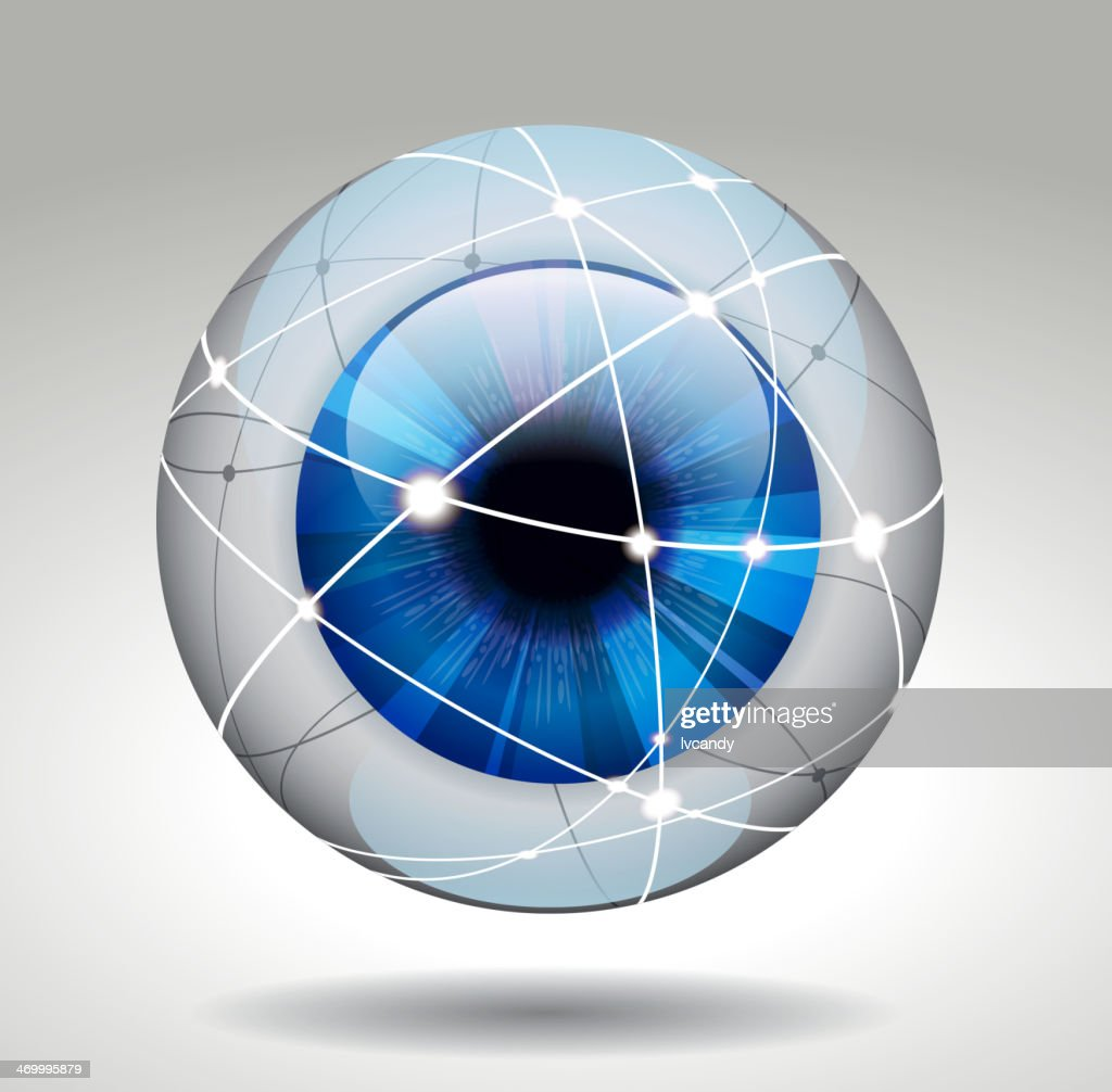 Eye protection : stock illustration