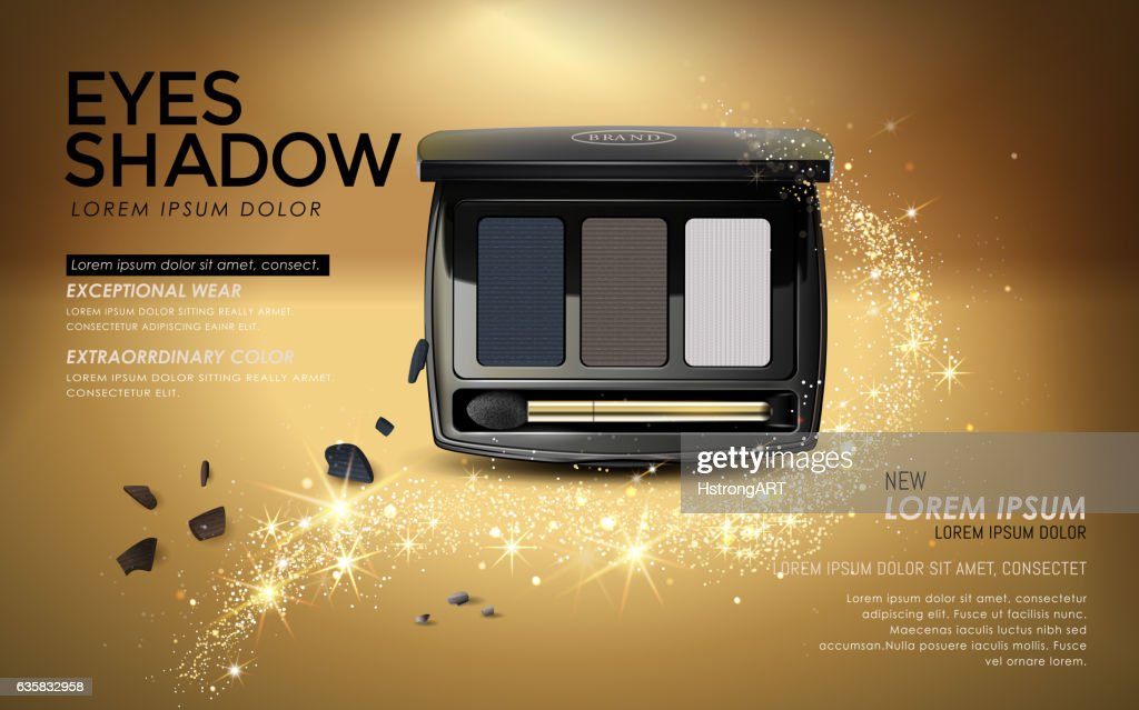 Eye shadow ads