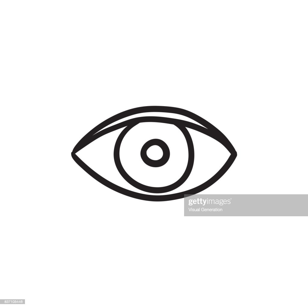 Eye sketch icon