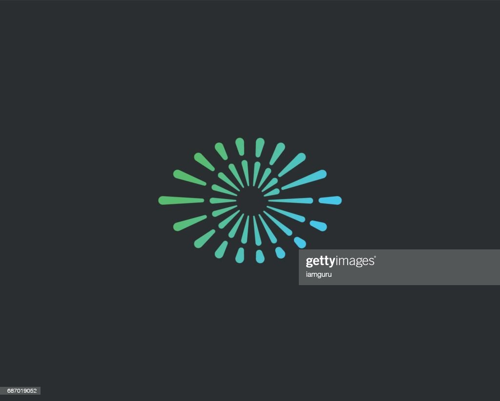 Eye swirl spiral infinity vector icon. Creative camera shutter vision icon. Photo video control sign.