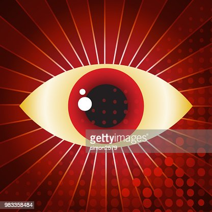 Eye Symbol Abstract Illustration Vector Art Getty Images