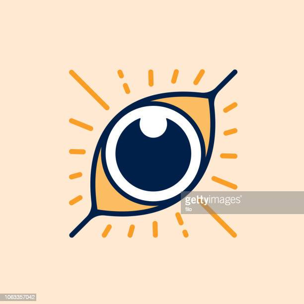 eye symbol - hypnosis stock illustrations