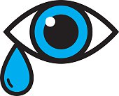 Eye With Tear icon