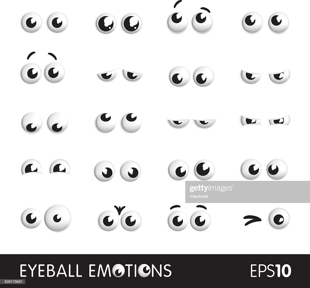 Eyeball emotions