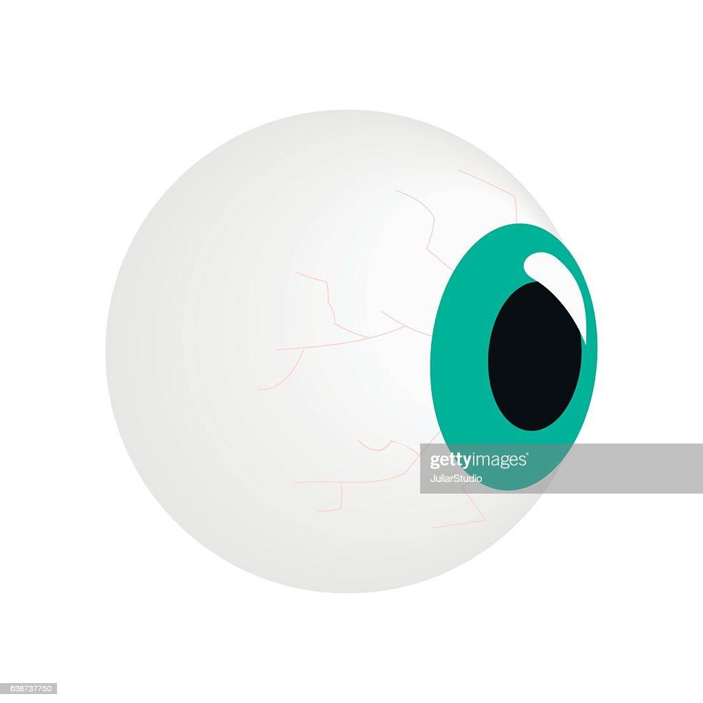Eyeball isometric 3d icon