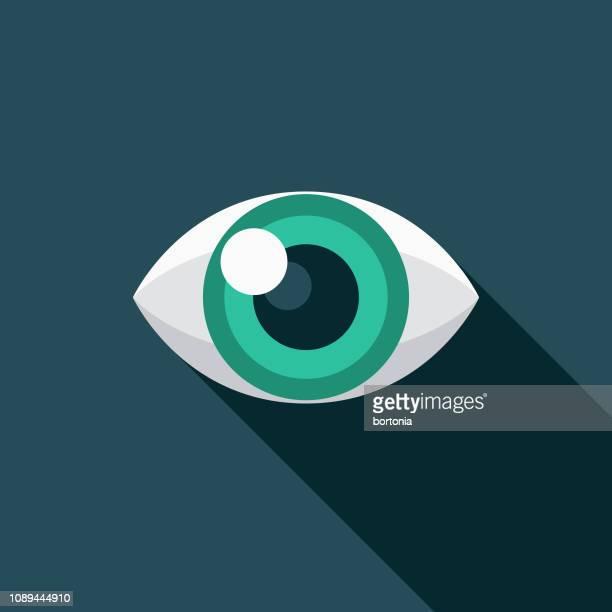 ilustrações, clipart, desenhos animados e ícones de olhar para o ícone de design gráfico - olho