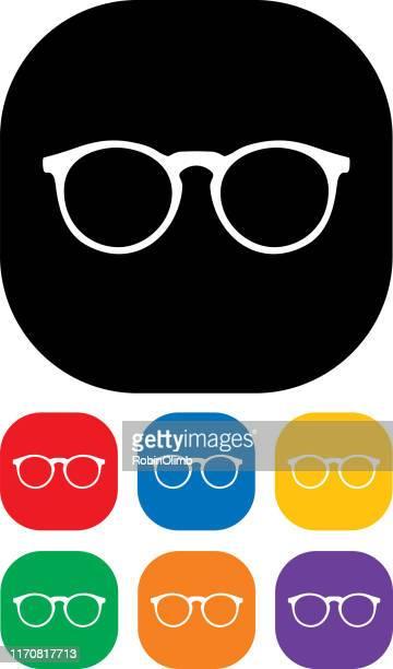 Eyeglasses Icon Set 3