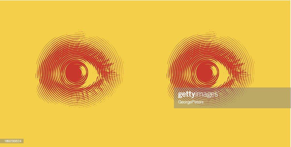 Eyes. Fear.