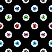 Eyes Seamless Pattern