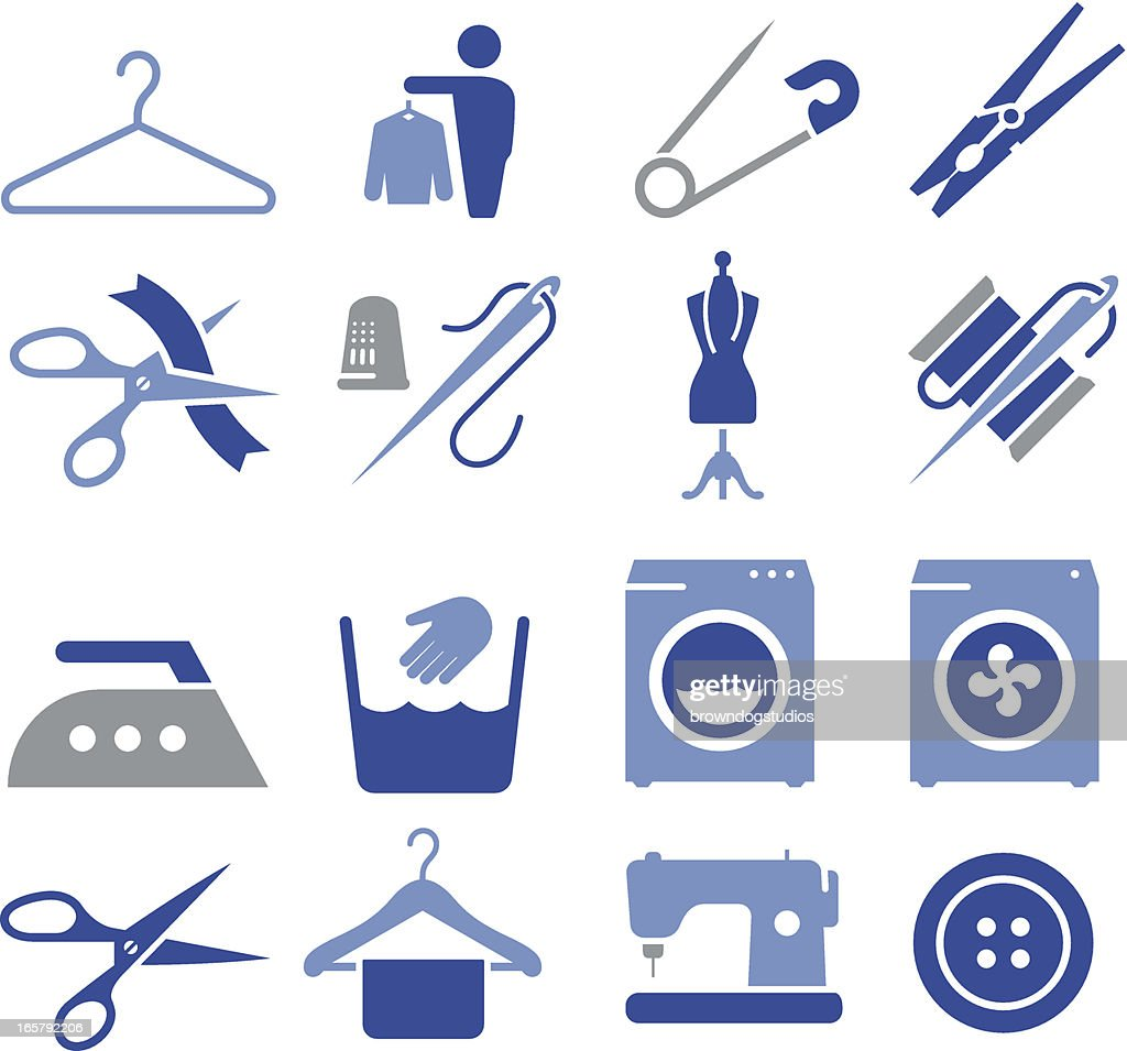 Fabric and Textiles Icons - Pro Series