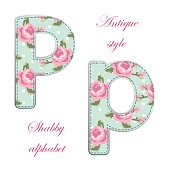 http://www.istockphoto.com/vector/fabric-retro-letters-in-shabby-chic-style-gm685056930-125996633