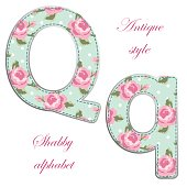 http://www.istockphoto.com/vector/fabric-retro-letters-in-shabby-chic-style-gm685057216-125996635