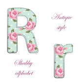 http://www.istockphoto.com/vector/fabric-retro-letters-in-shabby-chic-style-gm685057436-125996637