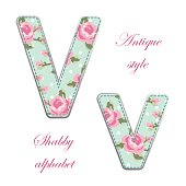 http://www.istockphoto.com/vector/fabric-retro-letters-in-shabby-chic-style-gm685066774-125996645