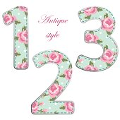http://www.istockphoto.com/vector/fabric-retro-numbers-in-shabby-chic-style-gm685430764-125996657