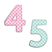 http://www.istockphoto.com/vector/fabric-retro-numbers-in-shabby-chic-style-gm821471682-132996085