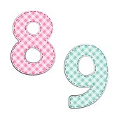 http://www.istockphoto.com/vector/fabric-retro-numbers-in-shabby-chic-style-gm821472030-132996089