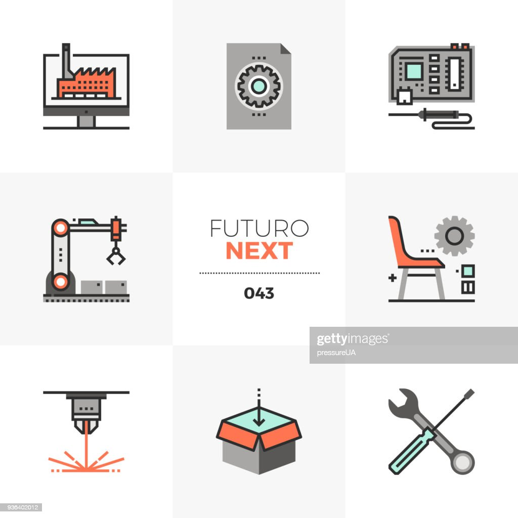 Fabrication Lab Futuro Next Icons