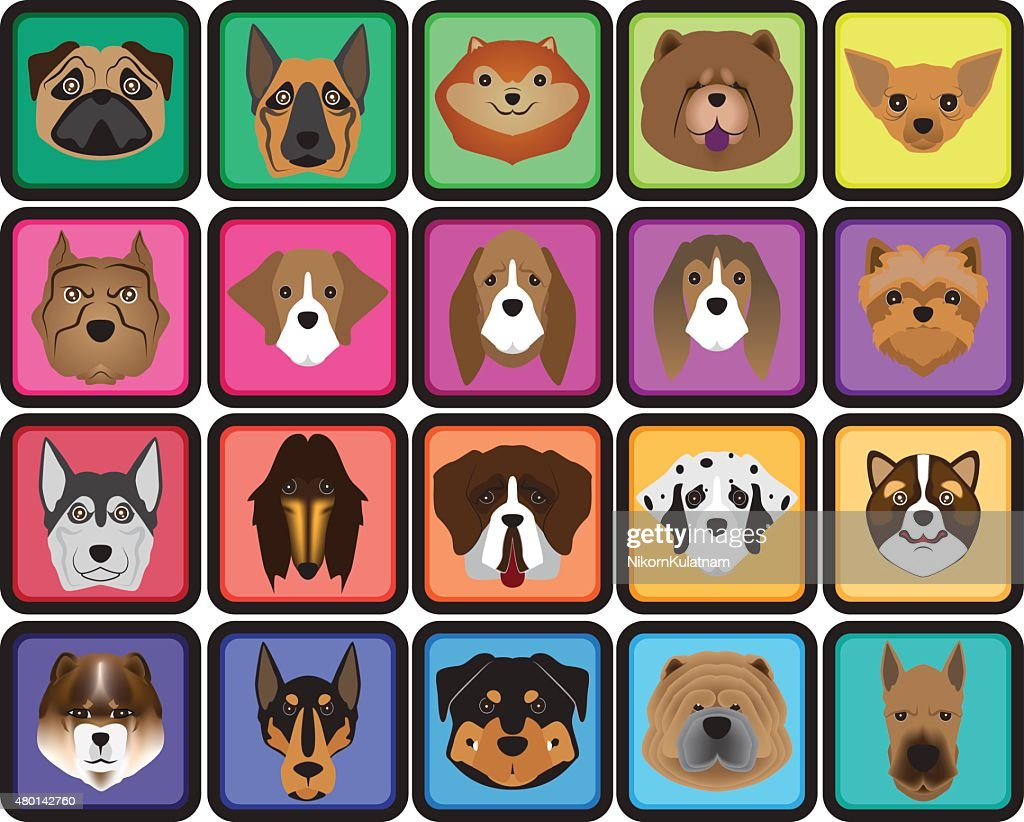 face dog icon
