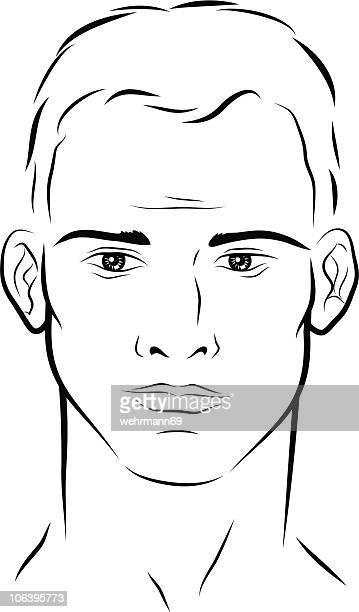 face of a man