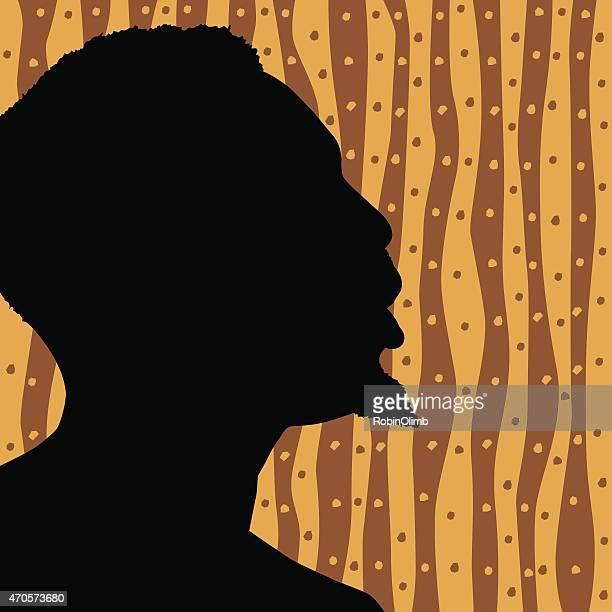 Face Silhouette Profile