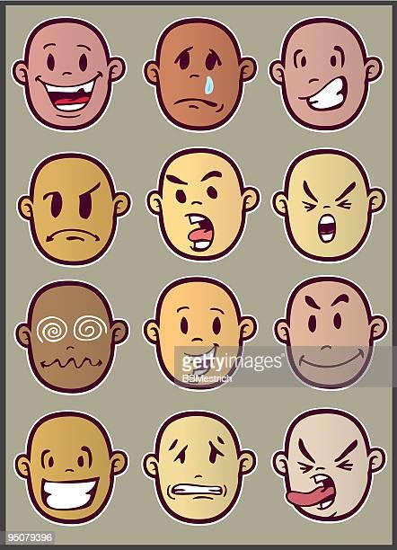 faces expresion
