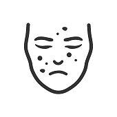 Facial Spots Icon