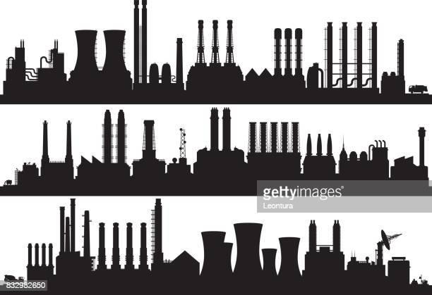 Fabriken (alle Gebäude sind getrennt und vollständig)