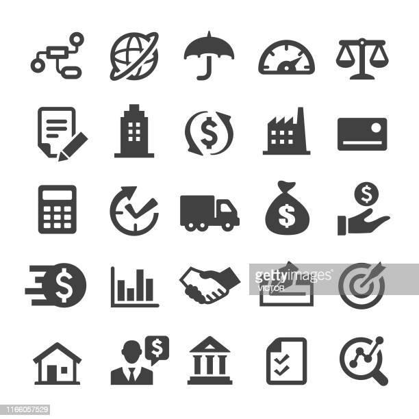 factoring company icons - smart series - sports round stock-grafiken, -clipart, -cartoons und -symbole