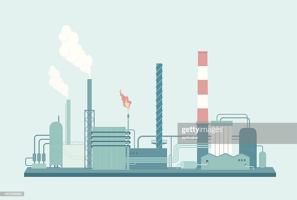 Factory : stock illustration