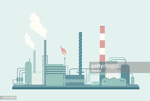 factory - industry stock illustrations