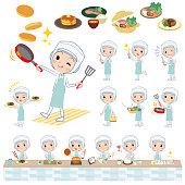 factory worker protection coat women_cooking