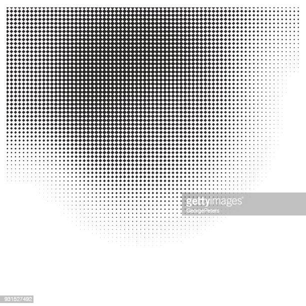 faded halftone pattern gradient background - silk screen stock illustrations, clip art, cartoons, & icons