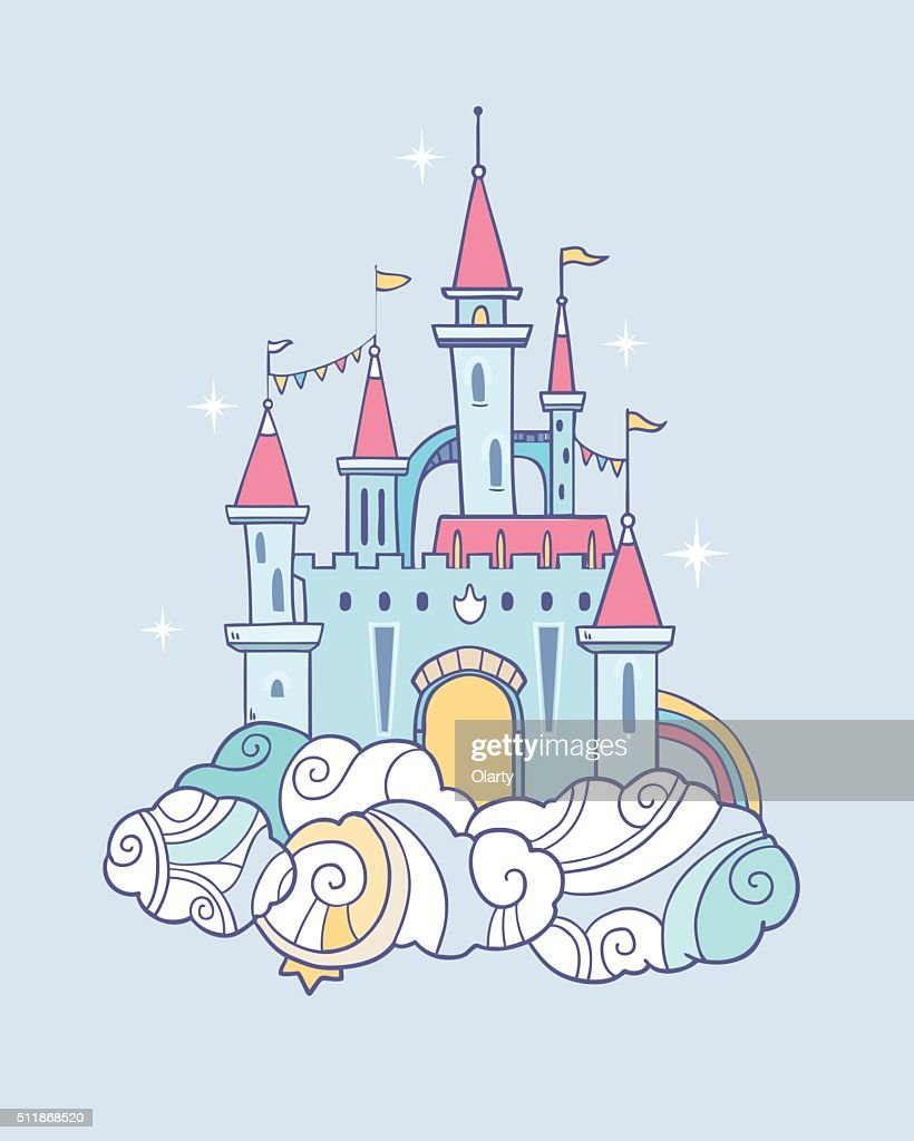 Fairy cloud castle