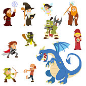 fairy tale characters.