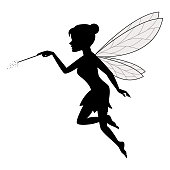 Fairy Waving Her Wand