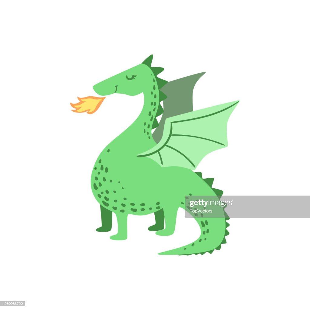 Fairytale Dragon Drawing