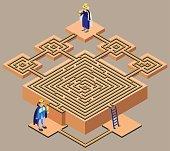 Fairytale maze