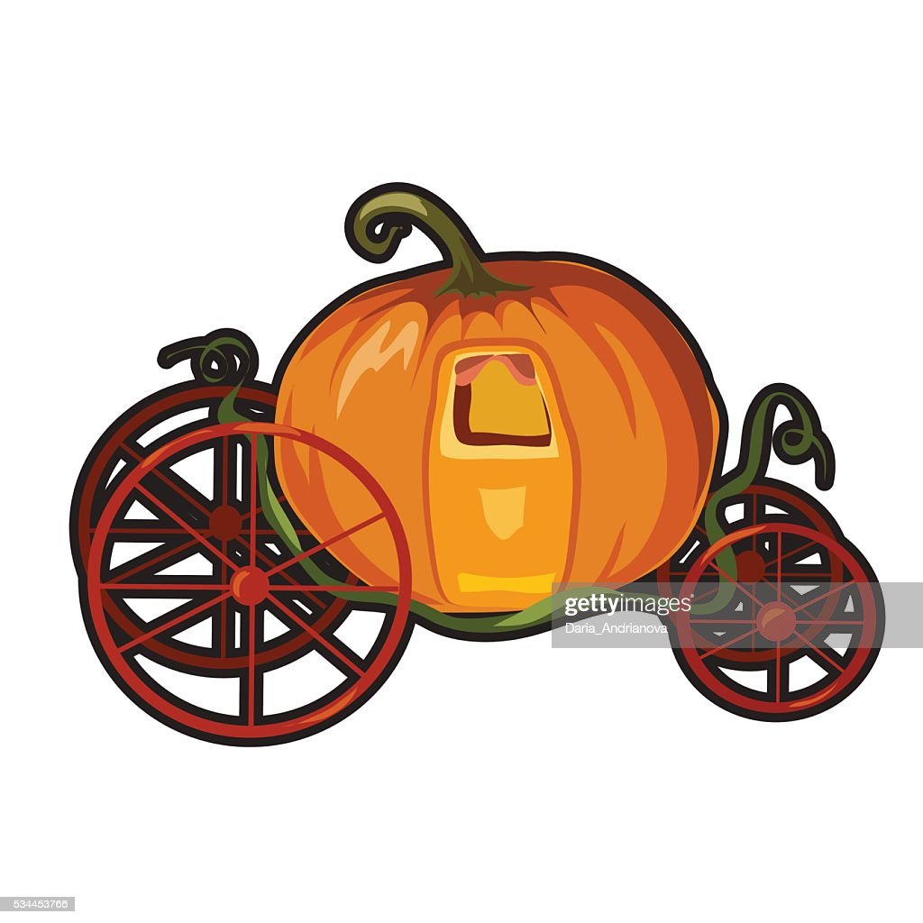 Fairytale pumpkin carriage for Princess
