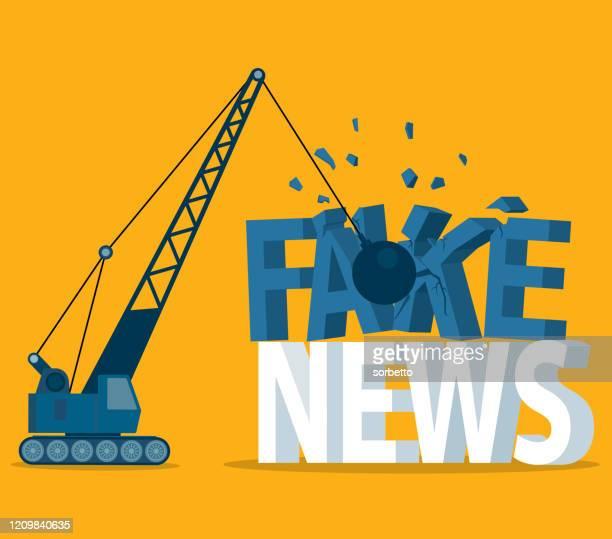 ilustrações, clipart, desenhos animados e ícones de fake news - breaking - fake news