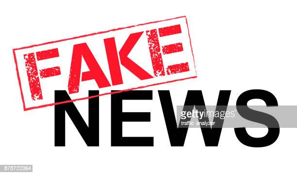 fake news - artificial stock illustrations