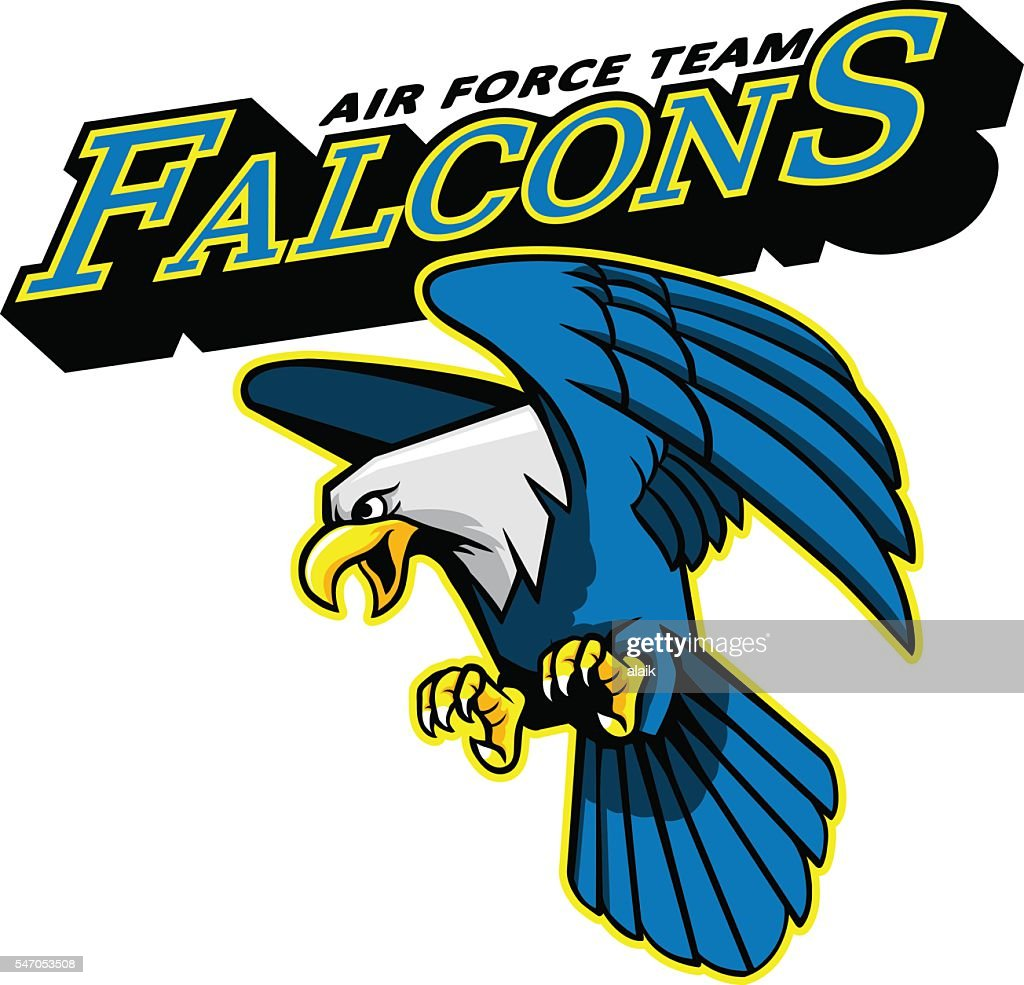 Falcons Air Force Team Mascot